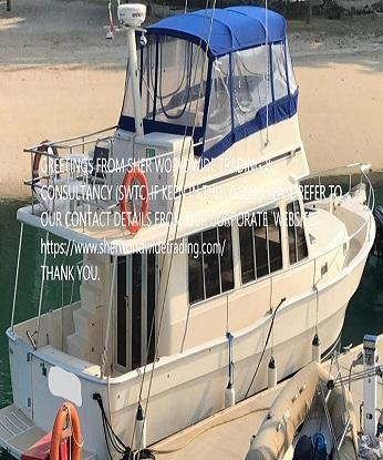 YACHT,FADARA,YACHT FOR SALE,MALAYSIA,SHER WORLDWIDE TRADING & CONSULTANCY.SWTC,MAINSHIP 400 TRAWLER
