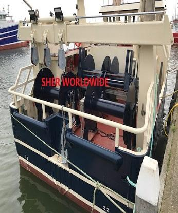 WET FISH TRAWLER & FLYSHOOTER FOR SALE - 45 GT