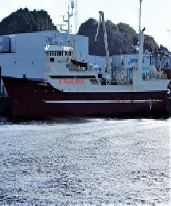 FREEZER TRAWLER FOR SALE - BLT 1986 NORWAY - 1345 GT