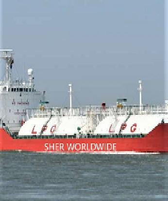 3,800 DWT LPG CARRIER (M/T TBN) FOR SALE