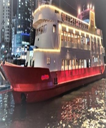 SIGHTSEEING PASSENGER SHIP / PLEASURE BOAT /PARTY CRUISE SHIP ON PROMPT SALE (HOT SALE POTENTIAL