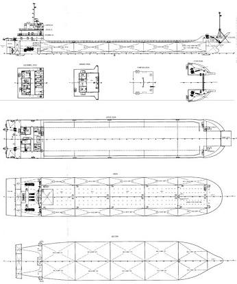 5,000 DWT SELF PROPELLED BARGE / HEAVY CARGO CARRIERON PROMPT SALE